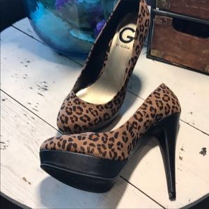 New Guess 7.5 Platform Pumps Heels 👠 Shoes